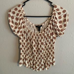 Off the shoulder Forever 21 shirt size M